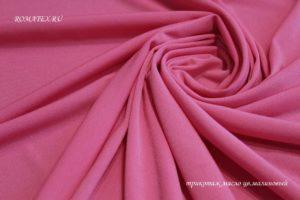 Подкладочная ткань трикотаж масло малиновый