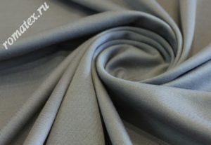 Ткань джерси цвет серый