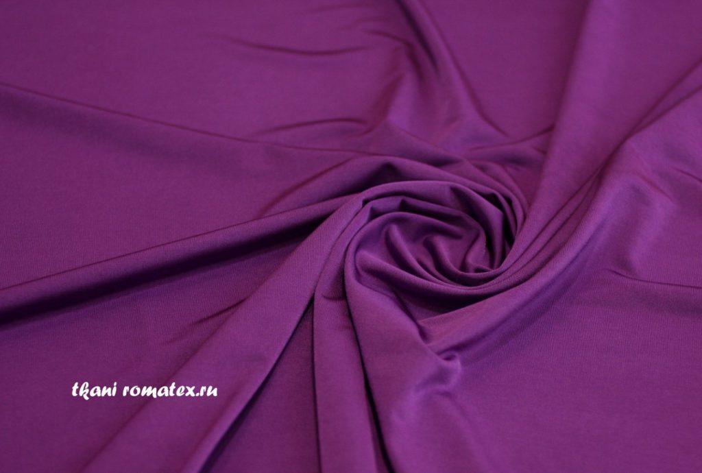 Ткань масло кристалл цвет тёмно-фиолетовый