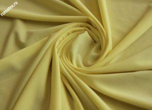 Подкладочная ткань трикотаж масло жёлтый