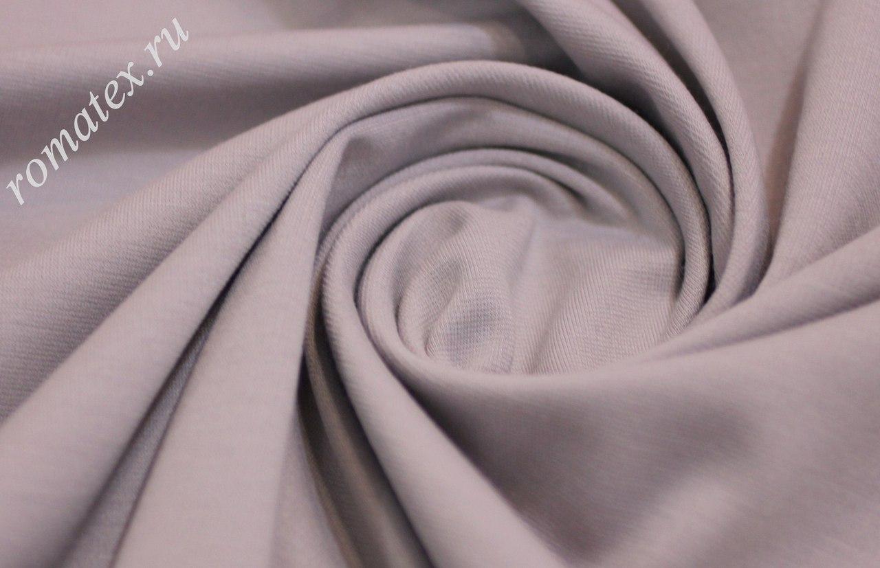 Ткань джерси цвет светло-серый