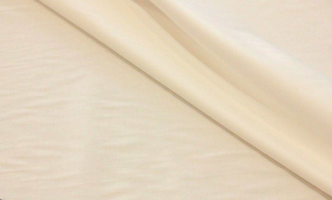 Ткань хлопок сатин цвет айвори