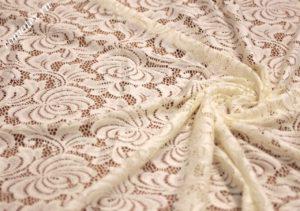 Ткань гипюр ds цвет айвори