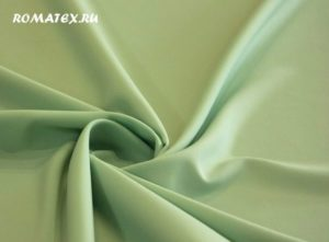 Ткань габардин цвет светлая мята