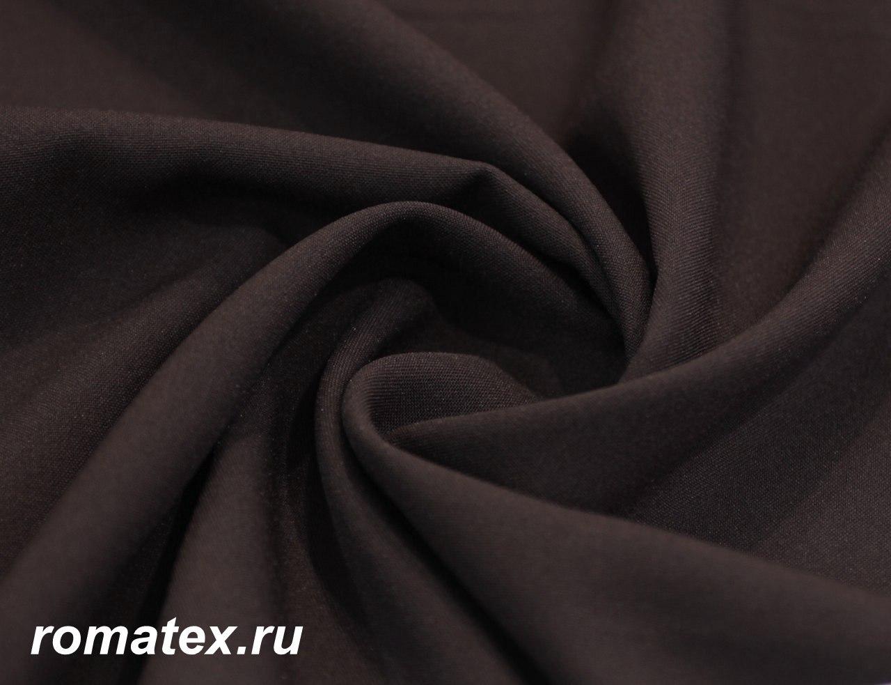 Ткань габардин цвет коричневый