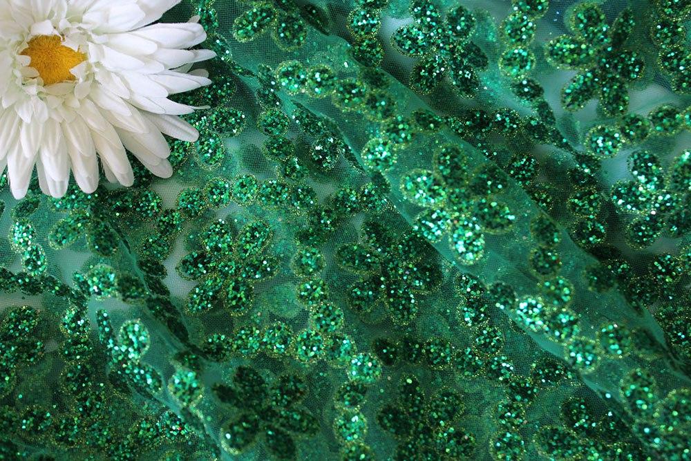 Сетка Валентино цвет изумруд