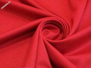 Ткань академик s цвет красный