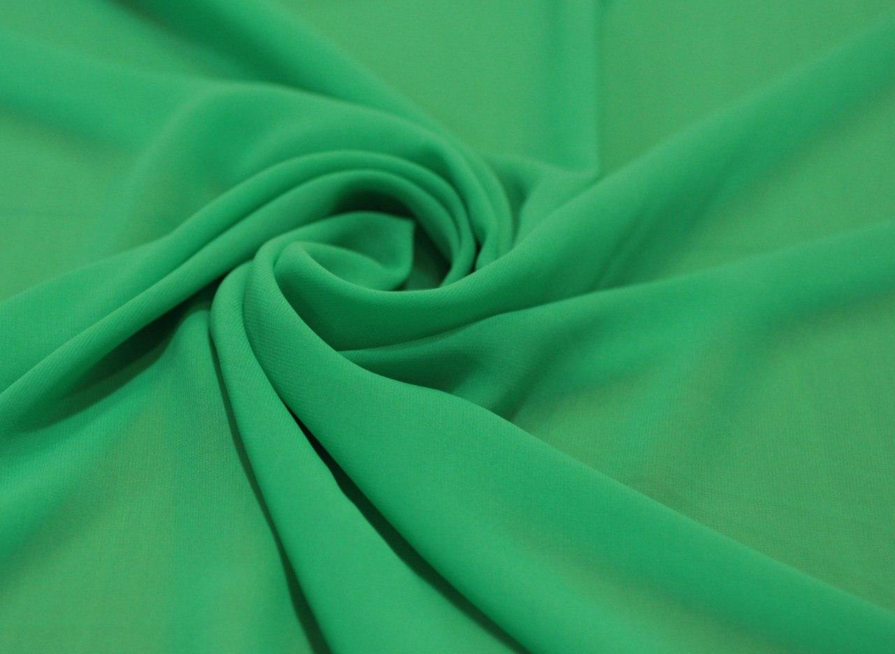Шифон микровискоза Цвет светло-зелёный