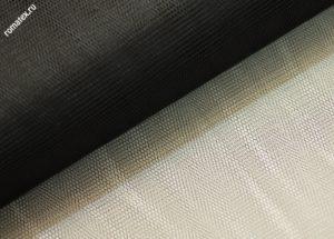 Ткань сетка жесткая цвет чёрный