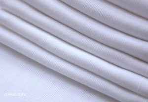 Ткань кашкорсе цвет белый ширина 250