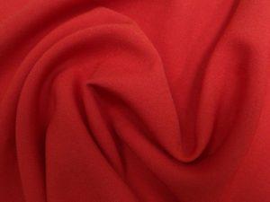 Ткань для шитья габардин цвет алый
