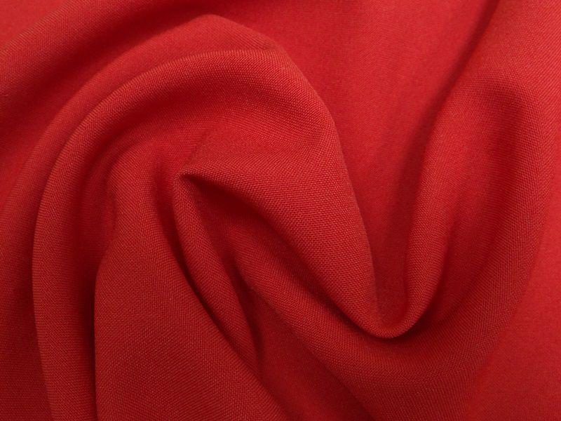 Ткань габардин цвет алый