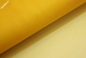 Ткань сетка жесткая цвет жёлтый
