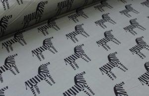 Ткань футер зебры качество компакпенье