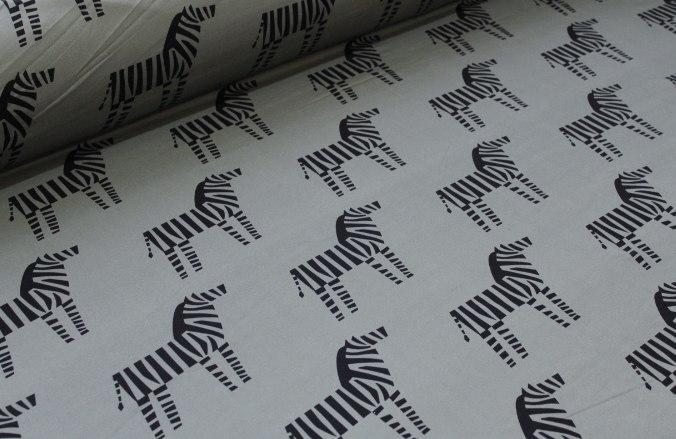Ткань футер зебры качество компак пенье