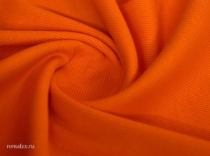 Ткань кашкорсе цвет оранж