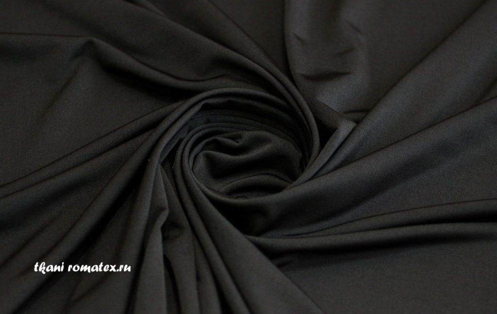 Ткань масло кристалл цвет угольно-черный