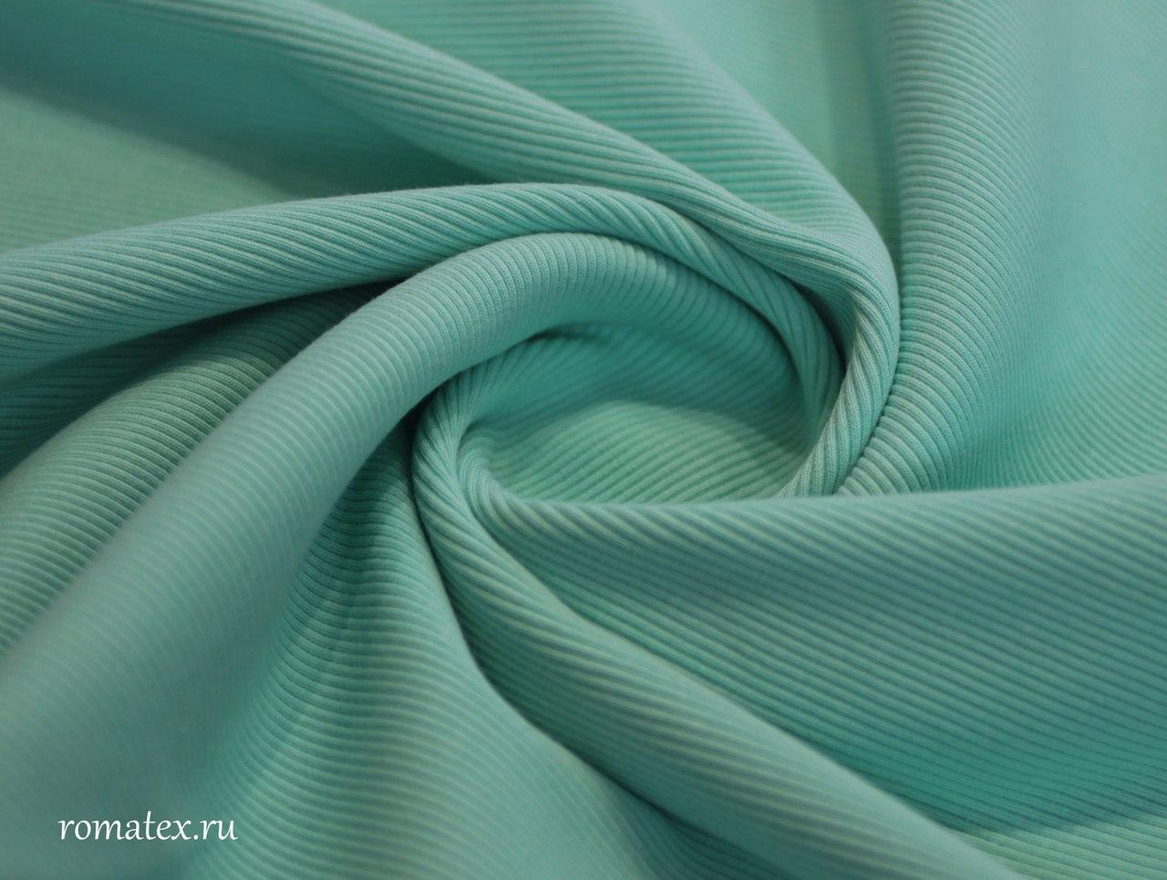 Ткань кашкорсе цвет мятный