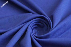Ткань академик цвет васильковый