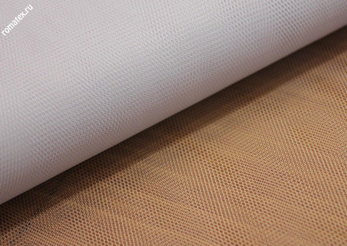 Ткань сетка жесткая цвет белый
