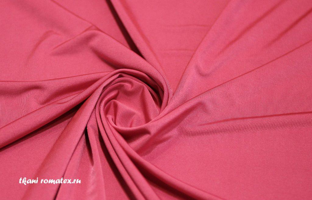 Ткань масло кристалл цвет кораллово-розовый
