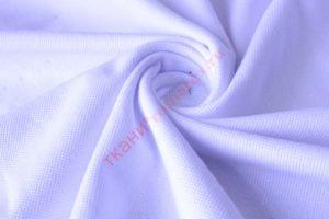 Ткань пике цвет белый