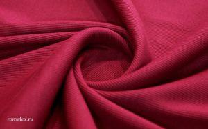 Ткань кашкорсе цвет бордовый