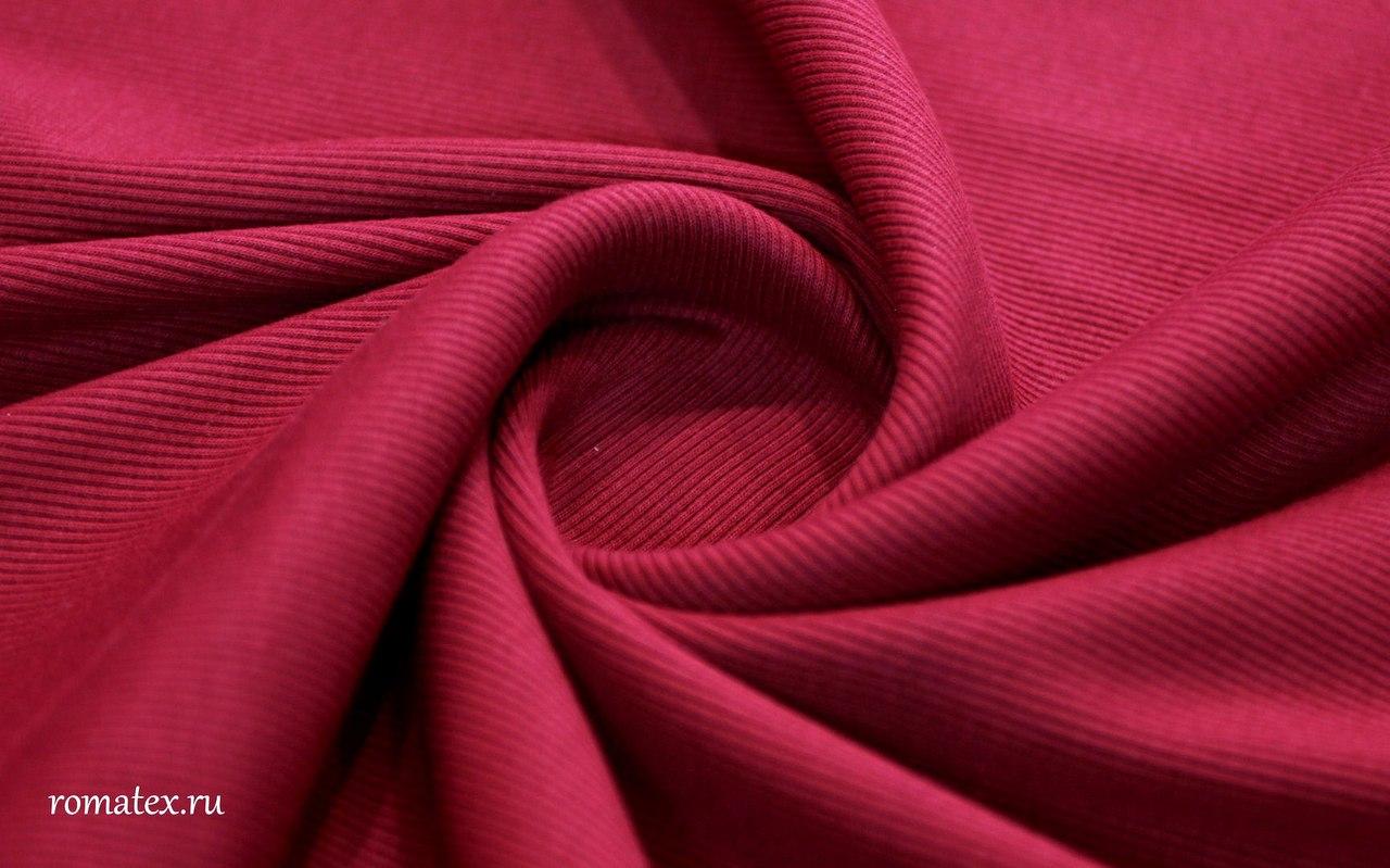 Ткань кашкорсе цвет бордо
