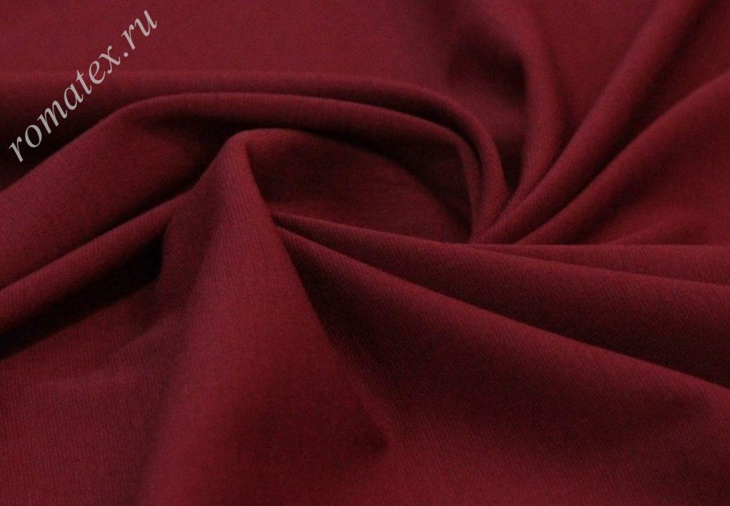 Ткань академик цвет бордо