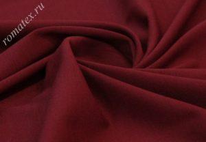 Ткань джерси цвет бордовый