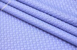 Ткань стежка ромб цвет голубой