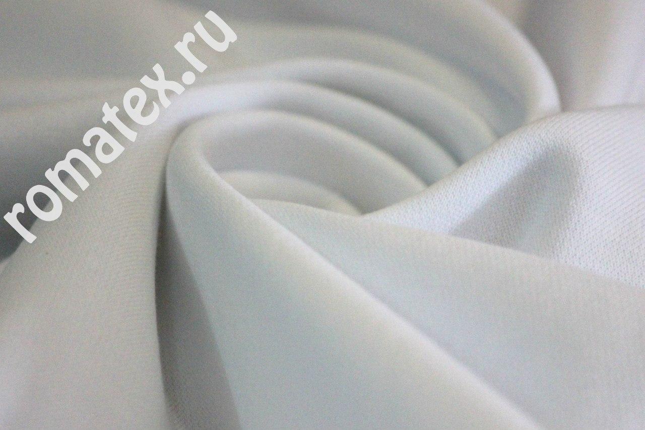 Футер 3-х нитка петля цвет белый