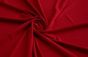 Подкладочная ткань трикотаж масло цвет бордовый
