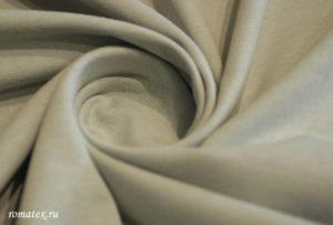 Ткань футер 2-х нитка начёс цвет серый