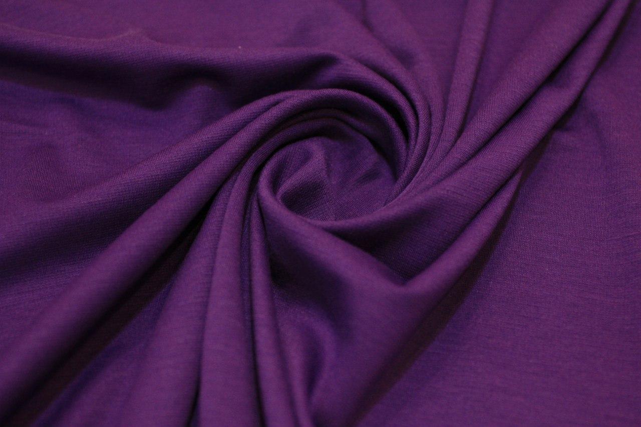 Ткань джерси цвет баклажан