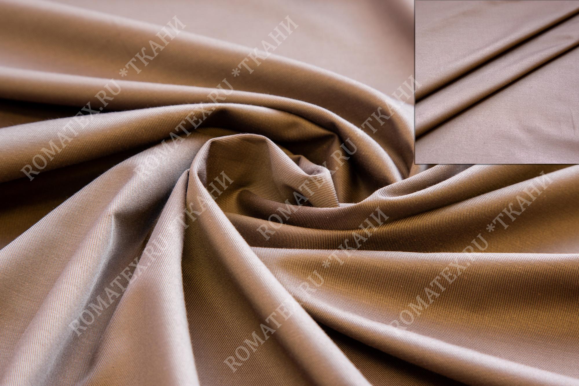 Ткань эрика цвет кофейный