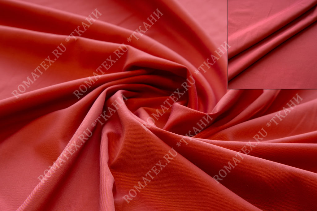 Ткань эрика цвет коралловый