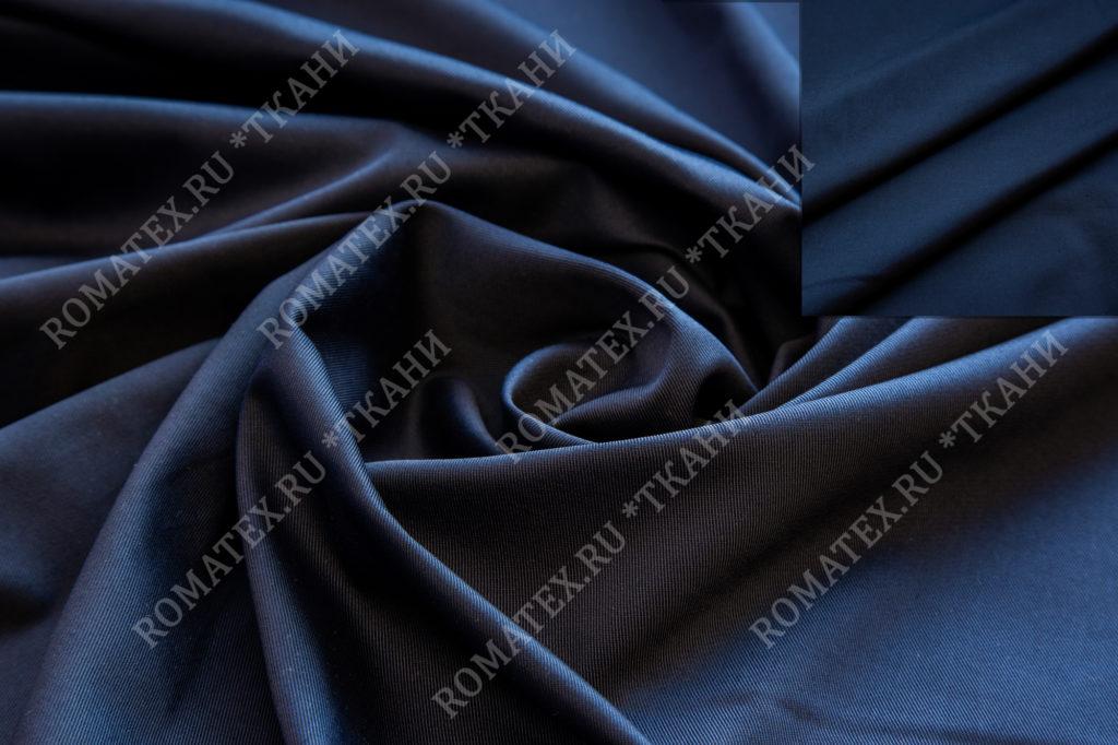 Ткань эрика цвет темно-синий