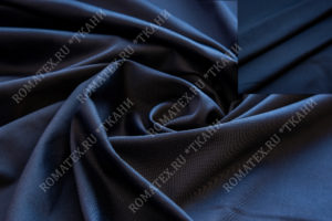 Ткань эрика цвет тёмно-синий