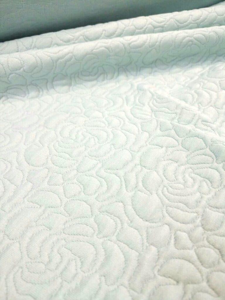 Ткань капитоний розочка цвет светлая мята