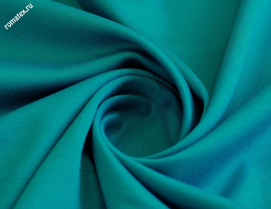 Ткань джерси цвет бирюзовый