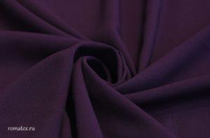 Ткань пляжная креп шифон цвет баклажан