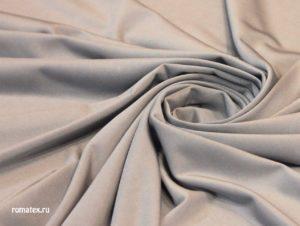 Ткань масло кристалл цвет светло-серый