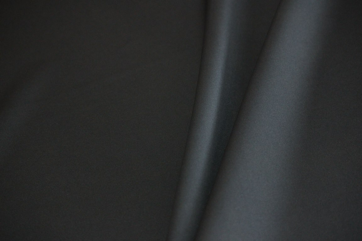 Ткань водолаз цвет чёрный