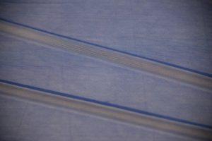 Ткань сетка трикотажная цвет голубой