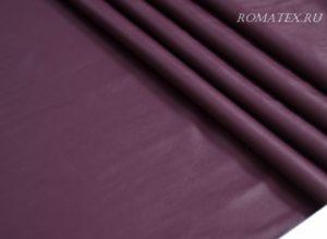 Искусственная кожа - ткань кожзам стрейч цвет марсала