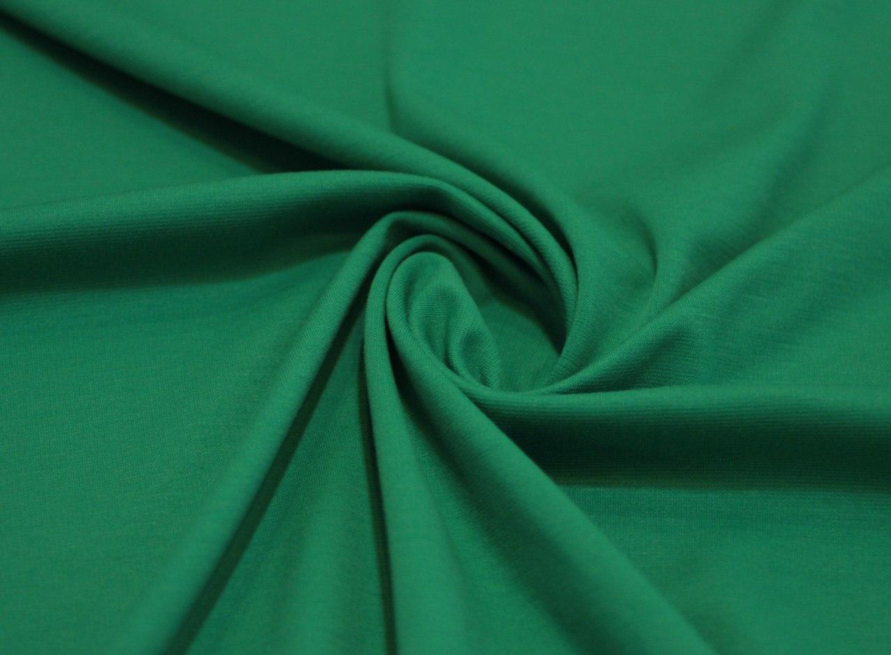 Ткань джерси цвет травяной