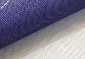 Ткань сетка жесткая цвет темно-синий