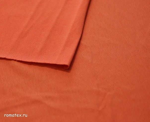 Футер 2-х нитка качество Пенье цвет оранж
