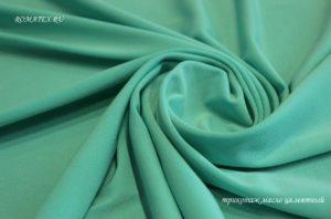 Подкладочная ткань трикотаж масло мятный